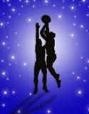 Basketball Players illustration stock photos