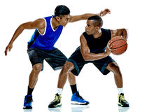Basketball players men Isolated Royalty Free Stock Photo