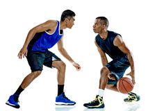 Basketball players men Isolated Stock Photos