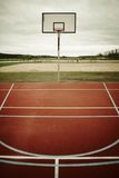 Basketball playground Royalty Free Stock Images