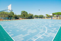 Basketball playground Royalty Free Stock Image