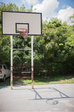 Basketball playground in School Royalty Free Stock Photo