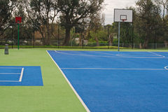 Basketball playground surface Stock Image