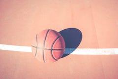 Basketball playground royalty free stock photos