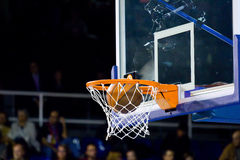 Basketball point Royalty Free Stock Photo