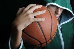Basketball portrait Stock Photos