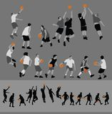 Basketball Poses Royalty Free Stock Images