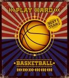 Basketball poster. Stock Image
