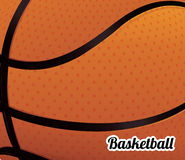 Basketball poster Royalty Free Stock Photography
