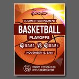 Basketball Poster Vector. Design For Sport Bar Promotion. Basketball Ball. Modern Tournament. Game Event Illustration. Basketball Poster Vector. Sport Event vector illustration