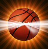 Basketball Power Royalty Free Stock Photography
