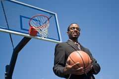 Basketball Pro Royalty Free Stock Photography