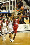 Basketball, Randal Falker Schießen. Stockbild