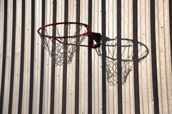 Basketball rim Royalty Free Stock Photos