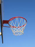 Basketball rim and net Royalty Free Stock Images