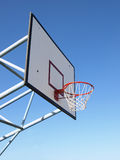 Basketball rim and net. In park Stock Photography