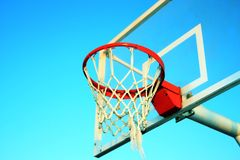 Basketball ring Stock Images