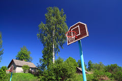 Basketball ring Stock Photography