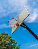 Basketball ring Stock Photo