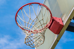 Basketball ring Royalty Free Stock Photos