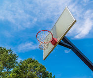 Basketball ring Royalty Free Stock Image