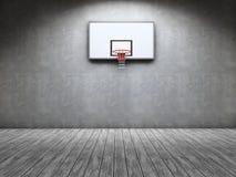 Basketball room stock image