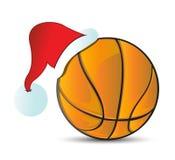 Basketball Santa Cap Stock Photography