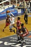 Basketball, Schießen Tony-Skinn Stockfotografie