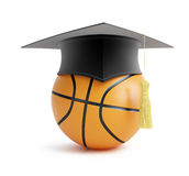 Basketball school. On a white background Stock Photo