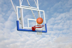 BasketBall - score Stock Photos