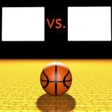 Basketball score Stock Photos
