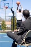 Basketball Scout Stock Photo