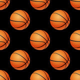 Basketball seamless pattern. Stock Images