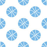 Basketball seamless pattern Royalty Free Stock Photo