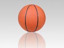 Basketball and shadow. Game basketball and shadow background Stock Photo