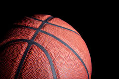 Basketball in Shadows Royalty Free Stock Images