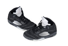 Basketball shoes Stock Images