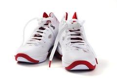 Basketball shoes white background Stock Photo