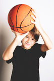 Basketball shooting Royalty Free Stock Image