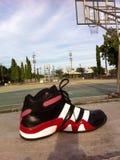 Basketball shose Lizenzfreie Stockfotos