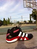 Basketball shose. Shose for play Basketball game Royalty Free Stock Photos