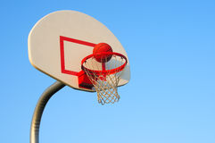 Basketball shot Royalty Free Stock Image