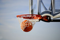 Basketball Shot Royalty Free Stock Photos