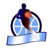 Basketball sign1 Stock Image
