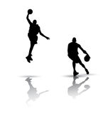 Basketball Silhouette Royalty Free Stock Image