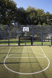 Basketball and soccer cage Stock Photography