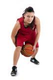 Basketball-Spieler stockbild