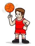Basketball-Spieler Lizenzfreies Stockbild