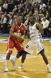 Basketball-Spieler, Frankreich. Lizenzfreie Stockbilder