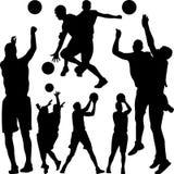 Basketball-Spieler-Vektor Lizenzfreie Stockfotografie